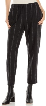 Eileen Fisher Tapered Striped Pants