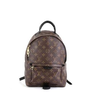 Louis Vuitton Palm Springs Brown Leather Backpacks
