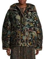 Etro Wool Puffer Jacket