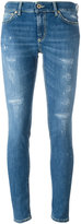 Dondup distressed skinny jeans - women - Cotton - 28
