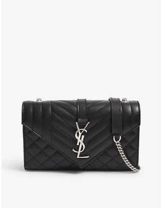 Saint Laurent Monogram leather satchel bag