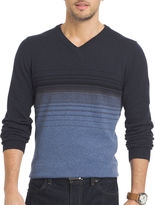 Van Heusen Striped Fashion V-Neck Sweater