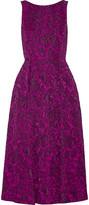 Badgley Mischka Jacquard dress