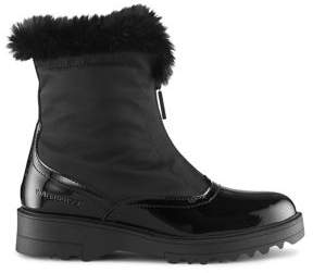 Cougar Grandby Faux Fur Collar Leather Waterproof Boots