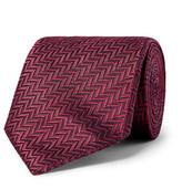 Ermenegildo Zegna - 7cm Herringbone Silk Tie