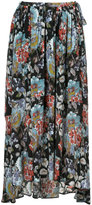 ESTNATION high-waisted floral skirt