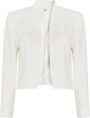 Wallis Ivory Cropped Jacket