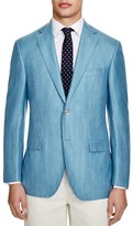 Jack Victor Loro Piana Pool Blue Classic Fit Sport Coat - 100% Bloomingdale's Exclusive