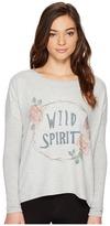 PJ Salvage Wild Spirit Novelty Long Sleeve Tee Women's Long Sleeve Pullover