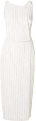 Dion Lee pinstripe utility dress