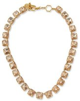 Tory Burch Faceted Crystal Short Necklace
