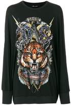 Balmain branded lion sweater