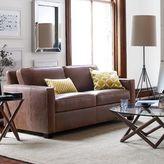 "west elm Henry® Leather Sofa (76"")"