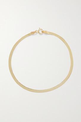 Loren Stewart Herringbone 10-karat Gold Bracelet - one size