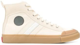 Diesel Red Tag side patch sneakers
