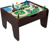 Kid Kraft 2-in-1 Activity Table with Board in Espresso