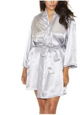 iCollection Plus Satin Robe Wrap, Online Only