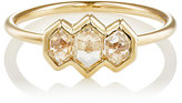 Grace Lee Women's White Diamond Module Ring-YELLOW