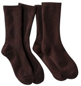 Merona Women's 2-Pack Argyle Rayon Socks - Assorted Colors One Size Fits Most