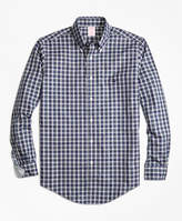 Brooks Brothers Non-Iron Regent Fit MacLeod Tartan Sport Shirt