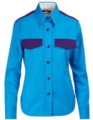 Calvin Klein Cotton gabardine shirt