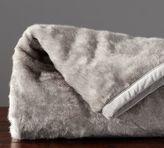Pottery Barn Faux Fur Throw - Bunny