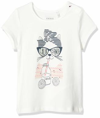 Ikks Junior Baby Girls' Tee-Shirt Chat T