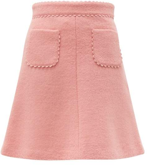 0d37bde80725 Red Valentino Skirt Scallop - ShopStyle