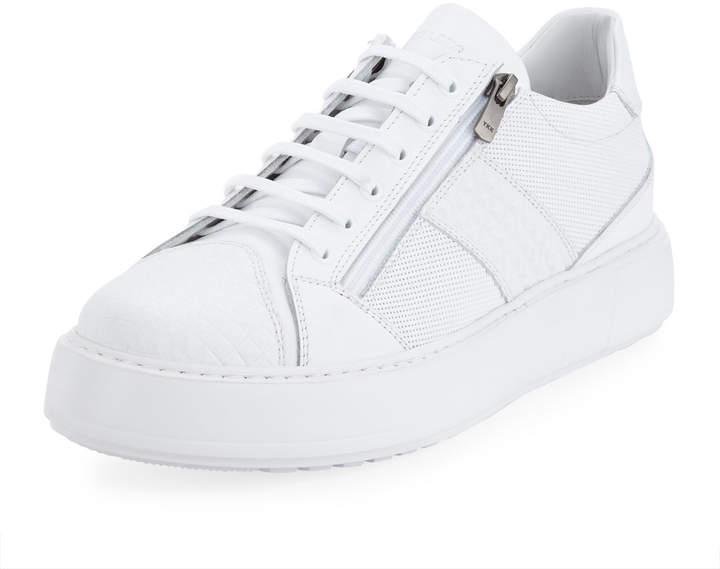 2a25ffedf90 Men's Platform Double-Zip Sneakers