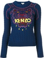 Kenzo 'Tiger' cable knit jumper
