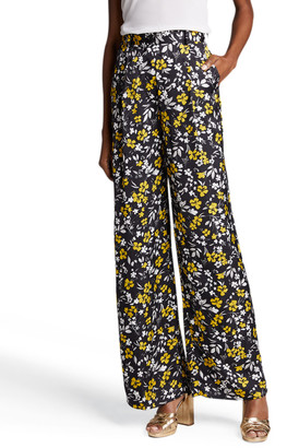 Racil Floral Print Wide-Leg Trousers