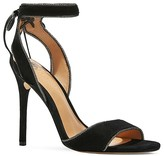 Halston Teresa High Heel Ankle Tie Sandals