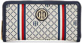 Tommy Hilfiger Th Serif Signature Diamond Jacquard Wallet