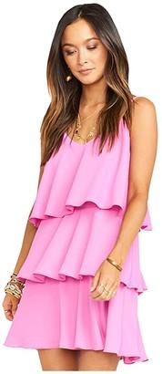 Show Me Your Mumu Suarez Ruffle Dress (Orchid Pink) Women's Dress