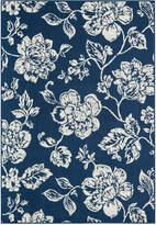 """Momeni Breezeway Indoor/Outdoor Floral 7'10"""" x 10'10"""" Area Rug"""