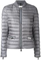 Moncler padded bomber jacket - women - Feather Down/Polyamide/Polyester - XXL