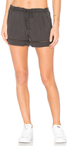 Bella Dahl Eyelet Short in Charcoal. - size M (also in S)