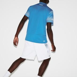 Lacoste Men's SPORT Paneled Tennis Shorts
