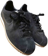 Nike Cortez Black Leather Trainers