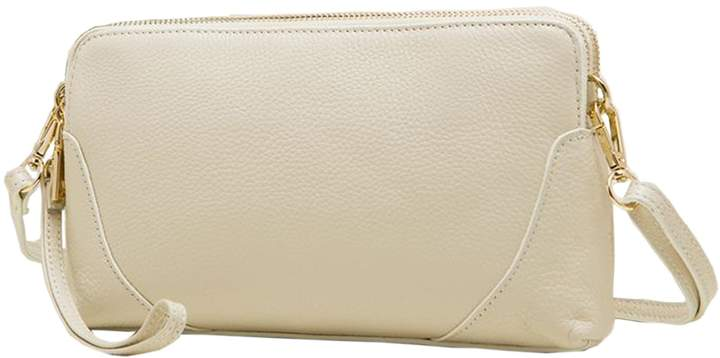 SAIERLONG Ladies Designer Womens Genuine Leather Clutches bag Cross Body Bags Shoulder Bags Wristlets