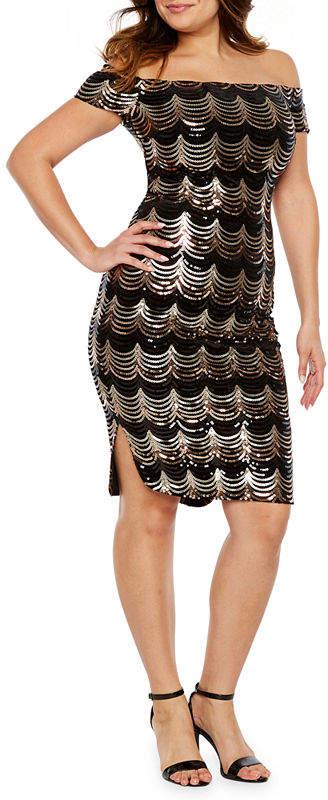 6314a309 Gold Off The Shoulder Dresses - ShopStyle