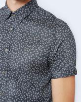 MANOMAN Floral print cotton shirt