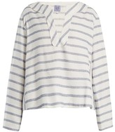 Thierry Colson Biarritz Spunga Striped-top - Womens - Blue Stripe