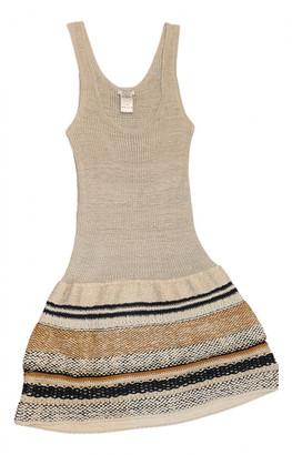 Chloã© ChloA Gold Wool Dresses
