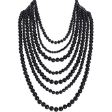 Bold Bead Multistrand Necklace