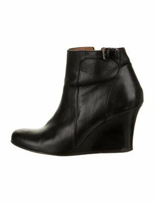 Lanvin Leather Boots Black