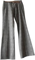 Isabel Marant Beige Wool Trousers
