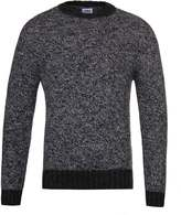 Edwin Dock Black & Charcoal Recycled Knit Sweater