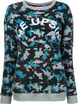 The Upside camouflage logo sweatshirt - women - Cotton - XXS