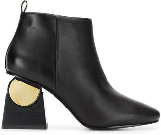 Kat Maconie Solange metallic-detail boots